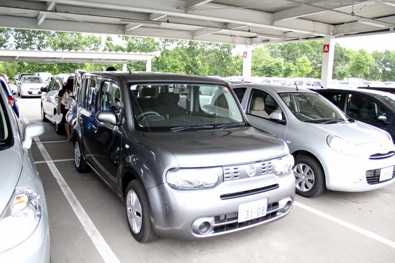 วันรับรถกับ Nissan Cube =)