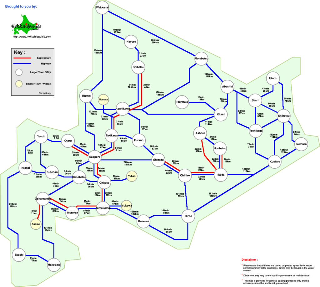 hokkaido_distances_map
