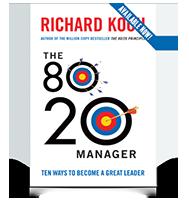 หนังสือ Work Smart rather than Hard Work (The 80/20 Manager) ของ Richard Koch